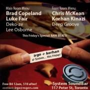 irGO & Korhan Kinazi @ System SoundBar