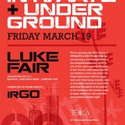 Luke Fair  Intimate & Underground