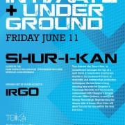 Shur-I-Kan - Intimate & Underground