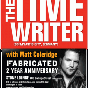 FABRICATED pres. The Time Writer w/ Matt Coleridge