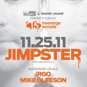 Jimpster @ The Great Hall (15 Years of Freerange Records)
