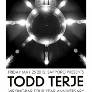 Wrongbar 4-year Anniversary w. TODD TERJE