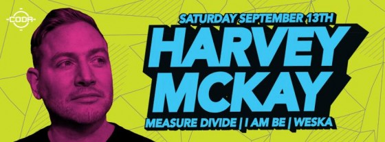 Harvey McKay - Sept 13 @ CODA