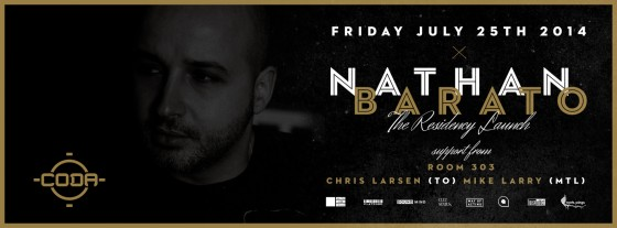 July 25 - Nathan Barato Residency Launch @ CODA