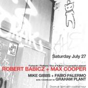Robert Babicz + Max Cooper