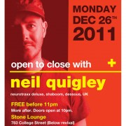 BOXING DAY with NEIL QUIGLEY (UK)