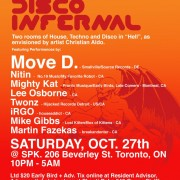 Disco Infernal - Hallowe'en Rave!!