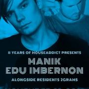 11 yr Anniversary w. M A N I K & Edu Imbernon