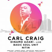 Carl Craig - July 16 @ Sunnyside