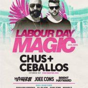 Chus & Ceballos - Sept 3 @ Sunnyside